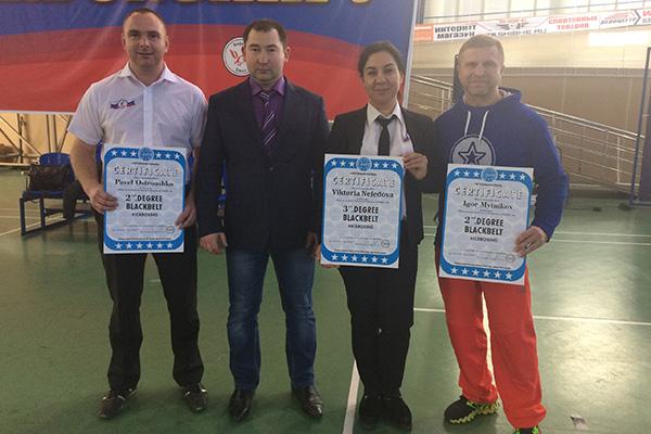 На прошедшем в г.Омске Чемпионате России по кикбоксингу