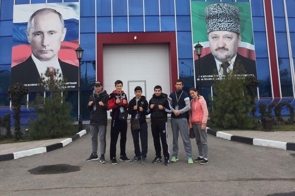 Со 2 по 6 апреля г. Грозном проходили Первенство и Чемпионат России по кикбоксинну