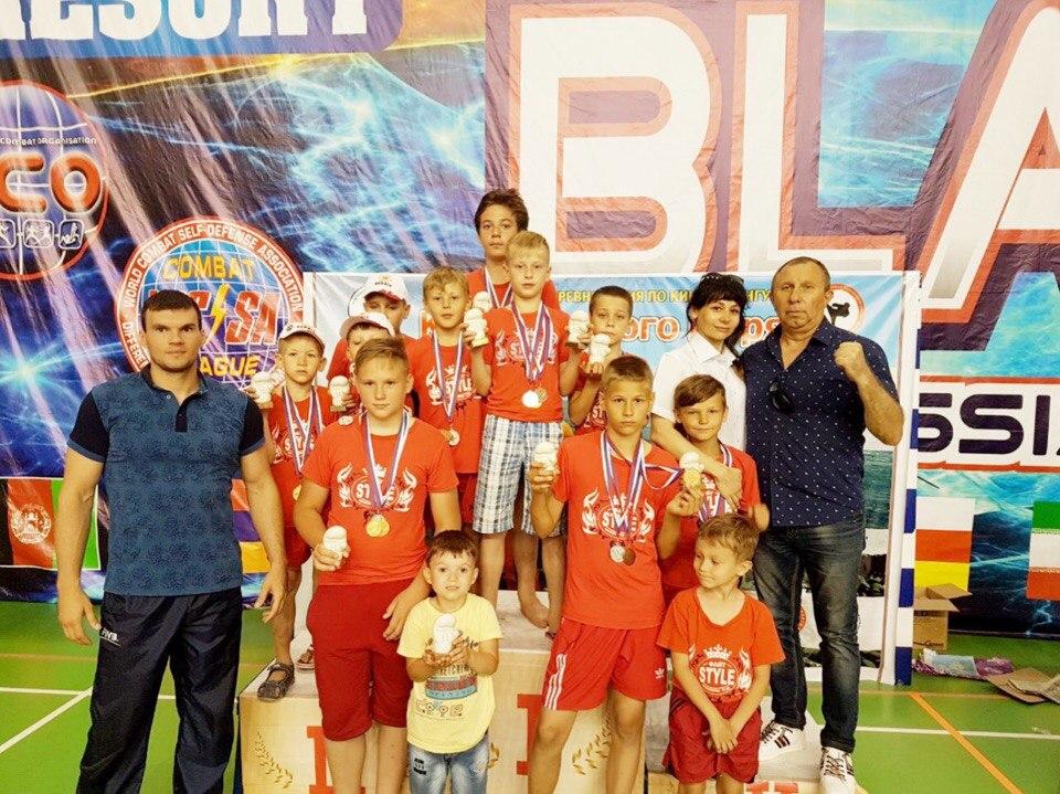 Участие во Всероссийском турнире «Кубок Чёрного моря» по кикбоксингу